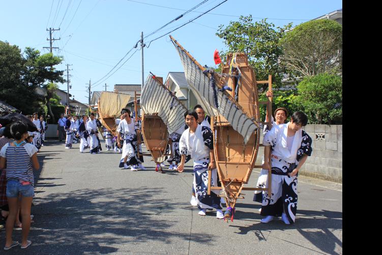 国指定重要無形民俗文化財 大江八幡神社の御船行事